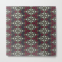 Flower of Life Pattern 7 Metal Print