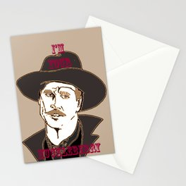 I'm your Huckleberry Stationery Cards