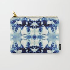 Tie Dye Blues Carry-All Pouch