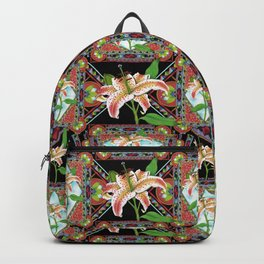 Gilding the Lily Pattern Backpack
