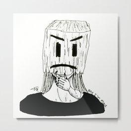 Boy I'm mad. Metal Print