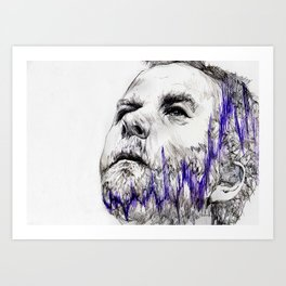 matt berninger Art Print