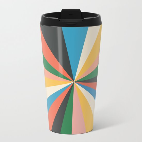 Always The Sun Metal Travel Mug