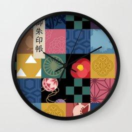 Kimetsu No Yaiba Haori Wall Clock
