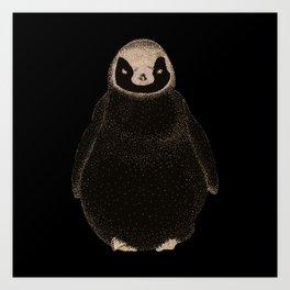 Pinguino Art Print