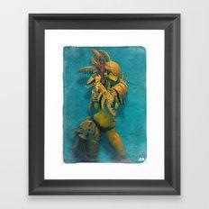Armoredgirl Framed Art Print