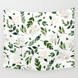 Magnolia Tree Wall Tapestry