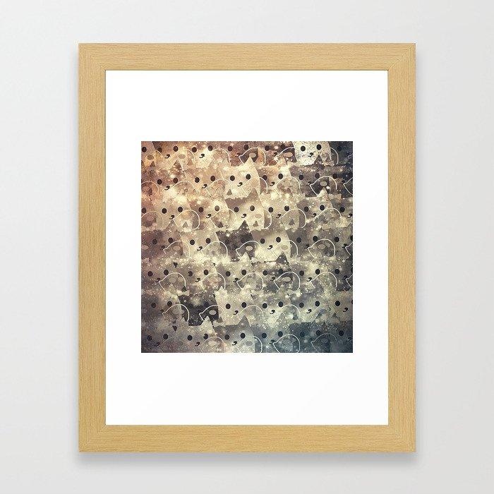 cats-143 Framed Art Print