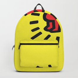 Inspired to Keith Haring Backpack