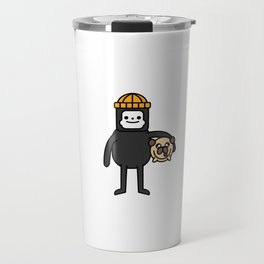 LILINTROVERT and Pudgy Travel Mug