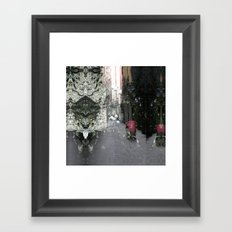 Timely foreseeable shaft turn. Framed Art Print