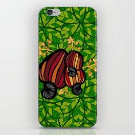 Tropical Cashew Leaves iPhone Skin