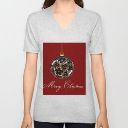 Christmas time Unisex V-Neck