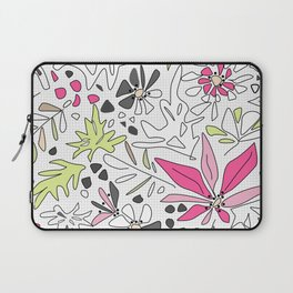 Retro floral pattern Laptop Sleeve