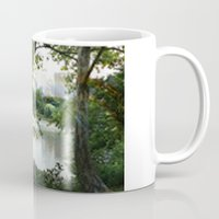 central park Mugs featuring Central park by ChaunceyInk
