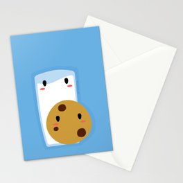 Milk and Cookie Stationery Cards