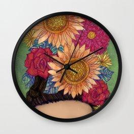 Vibrant Frida Wall Clock