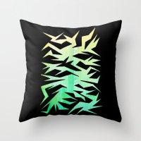 crane Throw Pillows featuring Crane by ArtsDianti