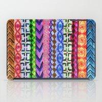 peru iPad Cases featuring Peru Stripe II by Schatzi Brown