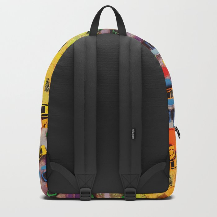 Traffic on Canvas Backpack