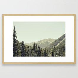 Leaving Pitkin County Framed Art Print
