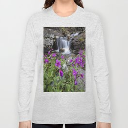 Secluded Waterfall Long Sleeve T-shirt