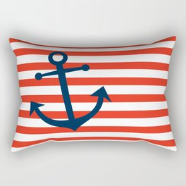 Nautical Anchor Rectangular Pillow
