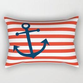 Nautical Anchor Rectangular Pillow