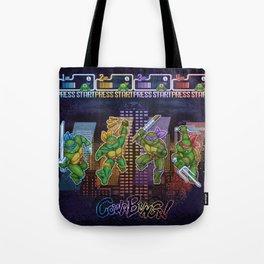 Mutant Ninja Turtle Teenagers Tote Bag
