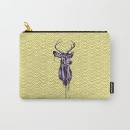 Deer Head IV Carry-All Pouch