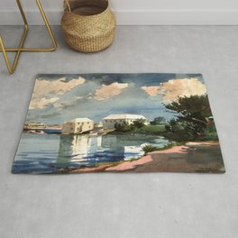 Salt Kettle Bermuda 1899 By WinslowHomer | Reproduction Rug