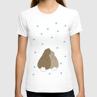bunnies T-shirts featuring Bunnies by Olaf Designs