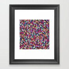 Encrusted With Sprinkles Framed Art Print
