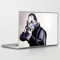 washington Laptop & iPad Skins featuring Peter Washington by Zombie Rust