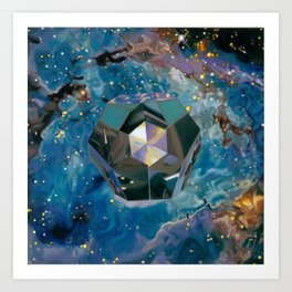 Dodecahedron Art Print