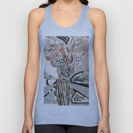 Travel In Time Unisex Tank Top