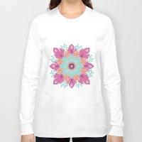 om Long Sleeve T-shirts featuring Om by zakumy