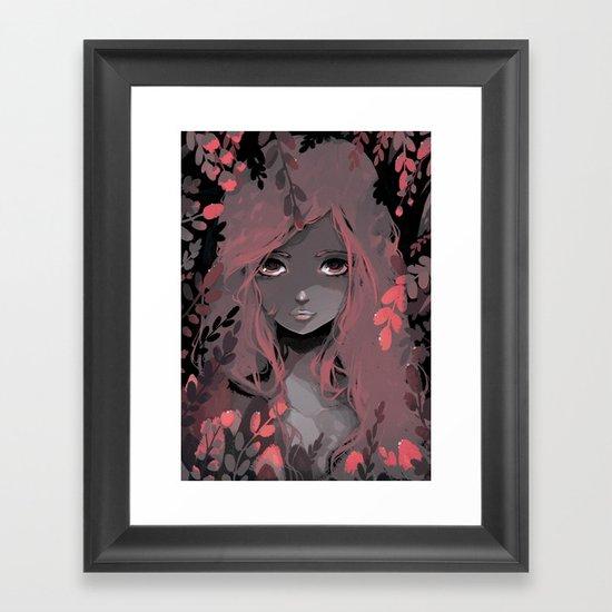 Pia Framed Art Print