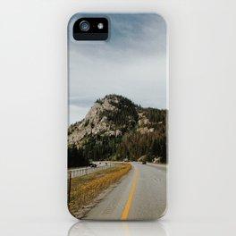 Highway View iPhone Case