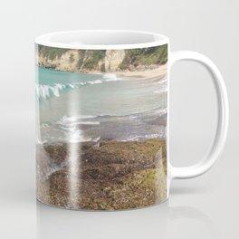 Warm Tropical Waves Coffee Mug