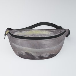 Outer Banks White Sunset Fanny Pack