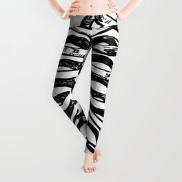 anatomy, physiology, and hygiene 1849 Leggings