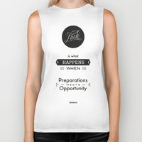 literary Biker Tanks featuring Seneca Quote, Literary Art, Words of wisdom by Spyros Athanassopoulos