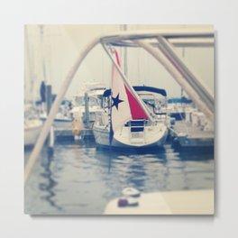 High Sails Metal Print