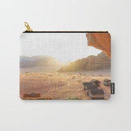 Desert Sunset in Wadi Rum, Jordan Carry-All Pouch
