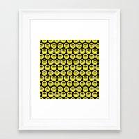 cyclops Framed Art Prints featuring CYCLOPS by Wesley Bird