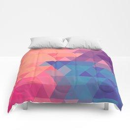 Colorul triangle Comforters