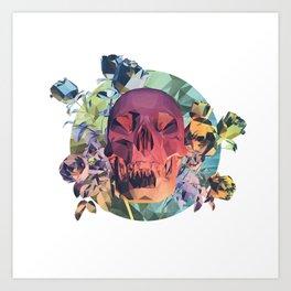 Low Poly Death Art Print