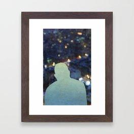 Luminous Traveler Framed Art Print