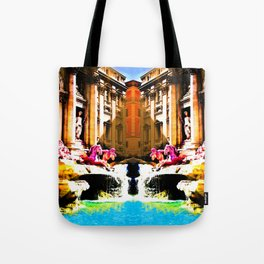 Trevi on the Flipside Tote Bag